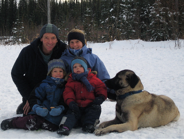 Mazze, Kangal rescue with his family